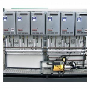 16 pan shower gas heaters